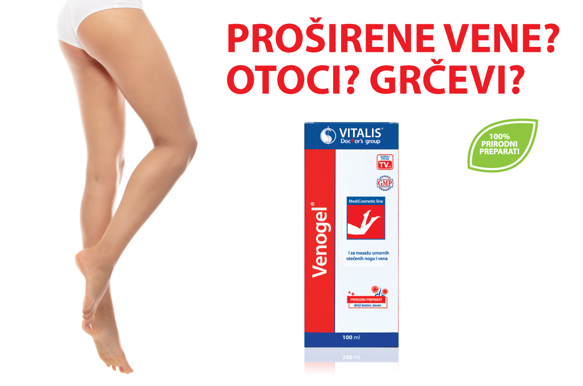 Vitalis Venogel 100ml